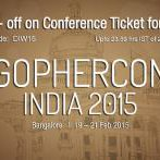 Last 4 days only: Rs 600 off on conference ticket. Code: DIW15 http://t.co/ZMLLfxksYH #golang http://t.co/Ew3NHETEVp
