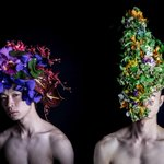 花結い師 TAKAYAのパフォーマンス「MEN」- 東京デザイナーズウィーク 天才万博にて開催 http://t.co/deglcwhugu http://t.co/pV7tn7ZXJs