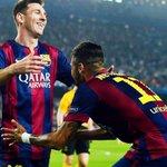 RT @Josecarrasco_: Hoy me río en la cara de todos los que decían que Messi y Neymar no se iban a llevar bien en el campo. La mejor dupla http://t.co/RqdLGgINCu