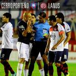 RT @DiarioOle: FP| #Lanús 1(2)-1(3) #CerroPorteño. El equipo paraguayo eliminó al último campeón. Los goles ▶ http://t.co/jmQbofpWP9 http://t.co/D3DCVtqsaP