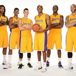 """@LakersNation: #LakersBasketball, Game 6. http://t.co/QUwdrMrjCV""the squad"