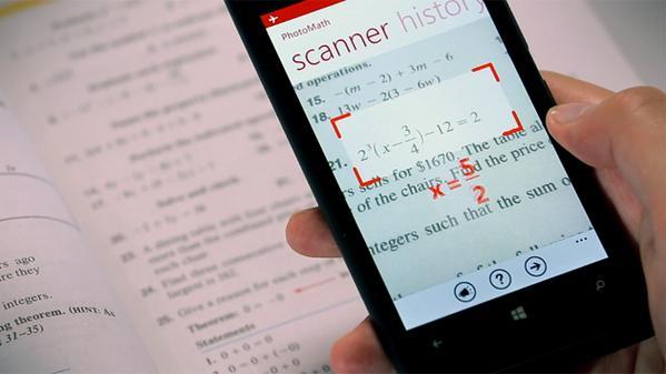動画:カメラで撮った数式を解くアプリ PhotoMath リリース。途中経過も表示 http://t.co/OvdxIX6Kba http://t.co/rp8j9ekHcC