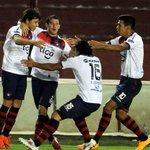 RT @UltimaHoracom: ¡Gigante Ciclón! Cerro eliminó a Lanús, el último campeón de la Sudamericana y clasificó a cuartos. http://t.co/0ufsfpFKxv
