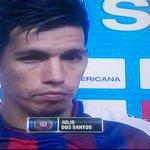 """Dos Santos #CerroPorteño """"todo el equipo se porto de maravilla y llevamos la clasificación ante el último campeón"""" http://t.co/njohYH4YJS"""