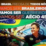 """""""@Osvando12: Esta é a TAG ---> #AecioPeloBR45IL <--- Vamos usá-la até às 17:00 do dia 26/10/2014! http://t.co/CoCbiTA9pn"""""""