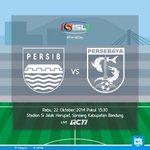 REMINDER : Today! Persib vs Persebaya jam 15.30 di Stadion Si Jalak Harupat. Live on RCTI #PersibDay http://t.co/urtaWIARRo