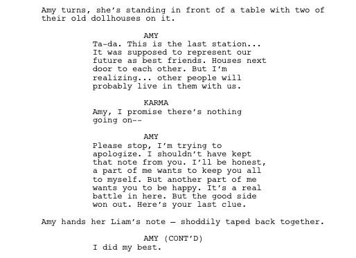 Thought you guys would enjoy seeing this scene on the page. #FakingIt @FakingItWriters #allthefeels http://t.co/Rvm0wsedUU