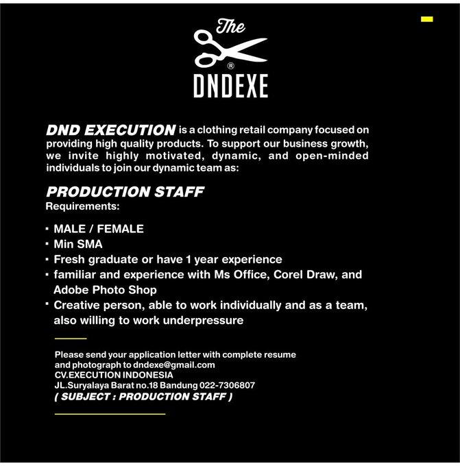 RT @dndexecution: We're hiring!  http://t.co/gX2dgbOCzb