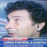 """Leonardo Astrada DT #CerroPorteño """"Sería una falta de respeto hablar de la Selección. Ahora para mi todo es Cerro"""" http://t.co/6jnCcWsYYD"""