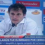 "RT @LuisEnriquePy: ""Lanus fue eliminado por #CerroPorteño"" http://t.co/1IxkAkmqFR"