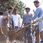 Sh. Salman Khan joined #SwachhBharat Abhiyan here are few pics. We believe that his initiative will inspire others. http://t.co/snT8cyt1vQ