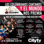 Cada mañana los colombianos cantamos y #LatinGRAMMYElMundoNosPremia. Transmisión en directo, 20 de noviembre, 8:00 pm http://t.co/eeKZQggwvn