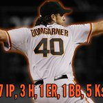 """""""@SFGiants: Standing Ovation for Madison Bumgarner who leaves after 7 #SFGiants #WorldSeries #OctoberTogether http://t.co/HnDIKtH2xN""""????❤????"""