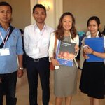 .@juliechungfso w/student volunteers promoting child protection in #Cambodia http://t.co/Bs42dcEITa #ENDviolence http://t.co/ctqCRNxlSO