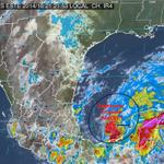 """RT @conagua_clima: La #DEPRESIÓN TROPICAL #NUEVE"""" en el Golfo de México se localiza también a 255km al oeste-suroeste de #Campeche,Camp. http://t.co/Js9XEuyggu"""