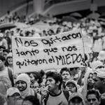 RT @Tania_mafalda: NOS TIENEN MIEDO PORQUE NO TENEMOS MIEDO #JusticiaAyotzinapa #EPNBringThemBack @_LilianaFelipe @Calle13Oficial http://t.co/TSSLFjAzJ3