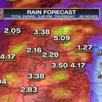 RT @BMacTV: Get ready for a good soaking the next 2 days in Oregon and Washington. Heaviest showers will hit Wednesday afternoon. http://t.co/oXQXuAgvLy