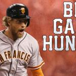 """""""@SportsCenter: Giants take Game 1 Hunter Pence & Bumgarner dazzles as San Francisco takes 1-0 lead in World Series. http://t.co/MMQghhjIDK"""""""