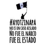 RT @Soy132MX: FUE EL ESTADO #Ayotzinapa http://t.co/Tx9DBWQywC