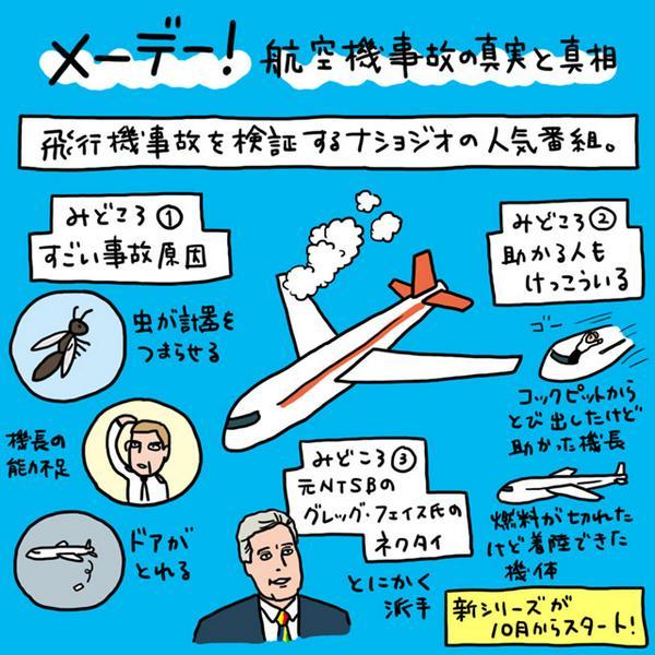 メーデー!の見どころを描きました。 http://t.co/iRKOUjGLKV http://t.co/MBZXxFR35e
