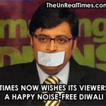 RT @TheUnRealTimes: Times Now wishes its viewers a happy, prosperous and noise-free Diwali ! http://t.co/tPCHqjJnWW
