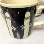 RT @arinacchi: ニョロニョロのマグカップ。 温かい飲み物を入れるとあら不思議。 http://t.co/hcKc16sI40