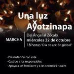 @diazpol Allí vamos a estar... #Ayotzinapa http://t.co/7zTE3kIMAo