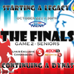 #NCAA90TheFinals Seniors Game 2, 1:30PM live on @TV5manila. San Beda vs Arellano! http://t.co/K7GdxUao4o