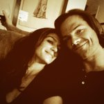 Live tweeting with my baby :) @realGpad #SupernaturaI #SPNFamily http://t.co/KP4OrNQkYQ
