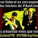 Así de claro #RegrésalosEPN #EPNBringThemBack y si no los regresas con vida #EPNDemandoTuRenuncia http://t.co/HL7al8HfCz