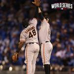 RT @SFGiants: Game 1 #SFGiants Victory #OctoberTogether #WorldSeries http://t.co/h7AFe0ux7y