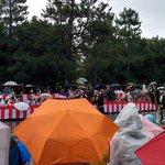 平安神宮も着き始めた 維新志士列にゃう #時代祭 #京都 http://t.co/BDYDA6prYQ
