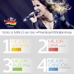 Hasta el 28 de noviembre puedes votar por @_MaluOficial_ en los #Premios40Ballantines!! http://t.co/kd8QVSegog http://t.co/1pkuxmzguM