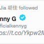 RT @wilfredchan: You know we're living in interesting times when one of China's fiercest dissidents @hu_jia follows Kenny G on Twitter http://t.co/qBtXvauUta