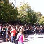 RT @PabloIglesiasF: Lxs estudiantes se concentran delante de la Subdelegación del Gobierno en Cáceres durante la huelga estudiantil. http://t.co/LW6NmGwLYU