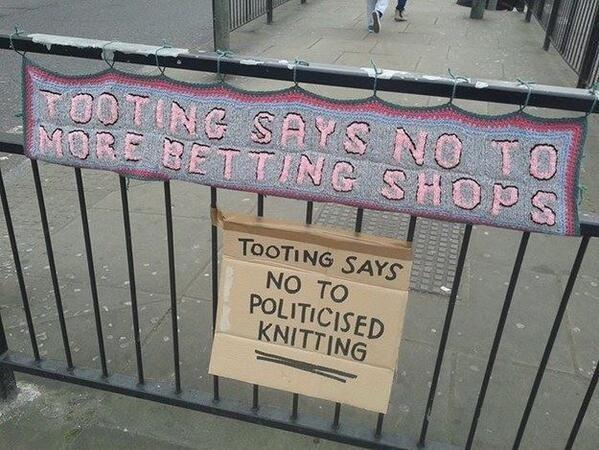 Meanwhile, in Tooting...... http://t.co/XynaPm4Acz