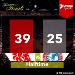 At the half: San Beda showing dominance, still in the lead vs Arellano #GoSanBedaFive #S... http://t.co/OUgBkxmRGP http://t.co/zhO42p34dU