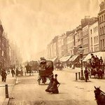 RT @SirWilliamD: I give you Oxford Street in #London c.1875 looking westward from Duke Street. On the right now stands Selfridges. http://t.co/LpYtsOeAKn