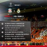 RT @LFC: Kick-off is 7.45pm BST and heres how you can follow our official coverage on the website and social media #LFC http://t.co/V6fuAvDReF