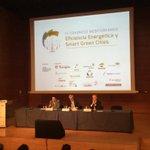 Inauguración del Congreso Mediterráneo de Eficiencia Energética y Smart Green Cities en el @PalauTGN @TGNAjuntament http://t.co/X7DSxG4Axc