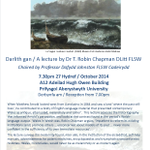 RT @LSWalesCDdCymru: Turn of the Tide - melancholy & modernity in mid-Victorian Wales Public lecture, @CymraegAber @AberUni 27/10/14 http://t.co/wJUNUsO8Ap