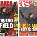 This is Anfield - and this is Cristiano! Heres what the Spanish papers are saying about #LFC: http://t.co/rcyAEZkC9U http://t.co/zYDEXIJ9QU