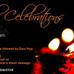 @BangaloreAshram invites all to attend the #Diwali Celebrations on 23rd Oct. 2014! For scheduled events view flyer: http://t.co/Vlj9ecQbxk