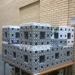 RT @SAMBa_CDT: #MegaMenger a sight to behold! Come along to 4W level 1, build boxes & be part of record-breaking #fractal @UniofBath http://t.co/L1KoyonciP