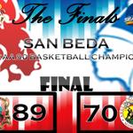 San Beda defeated Arellano. Congratulations! #NCAA90TheFinals #Seniors http://t.co/E1K3iI4k0e