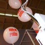 A #smau #RFID #NFC con novità tecnologiche, soluzioni e demo, segui i palloncini! Pad. 1 - Stand D04 http://t.co/S5z9YAU2L8