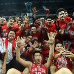 RT @NCAAonSports5: PHOTO   The San Beda Red Lions hoist NCAA trophy http://t.co/Nd3IrMvCPk http://t.co/ctGRuTfOHA