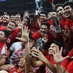 """RT @YahooPH: """"San Beda dominates Arellano to win 5th straight NCAA crown"""": http://t.co/Karpw6OGow. Congrats, San Beda Red Lions! http://t.co/67XfCb8sc2"""