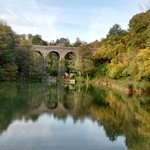 Autumn, Tucking Mill Viaduct. http://t.co/hBOc968s2Z