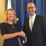 RT @pasiraj: Ministers @toivakka and @harlemdesir meet in Paris to compare French and Finnish notes ahead of key European Council. http://t.co/z45sl56ekH